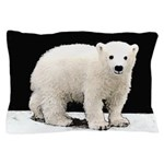 Polar Bear Cub Pillow Case