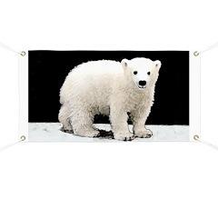 Polar Bear Cub Banner