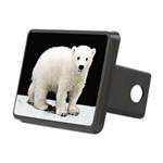 Polar Bear Cub Rectangular Hitch Cover
