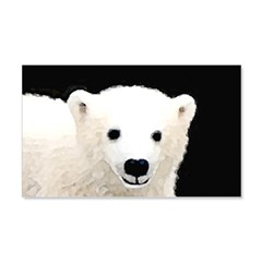 Polar Bear Cub Wall Decal