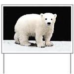 Polar Bear Cub Yard Sign