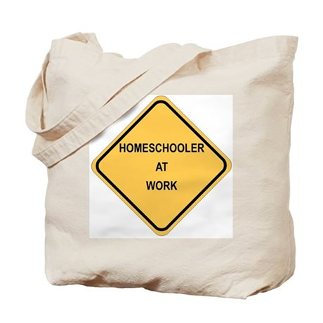 Tote Bag/Homeschooler At Work