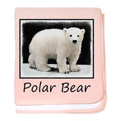 Polar Bear Cub baby blanket