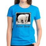 Polar Bear Cub Women's Dark T-Shirt