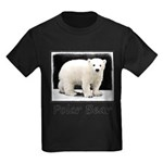 Polar Bear Cub Kids Dark T-Shirt