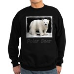 Polar Bear Cub Sweatshirt (dark)