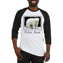 Polar Bear Cub Baseball Tee
