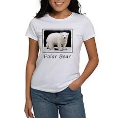Polar Bear Cub Women's Classic White T-Shirt