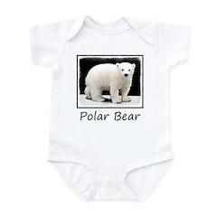 Polar Bear Cub Baby Light Bodysuit