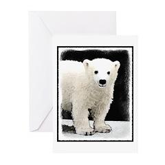 Polar Bear Cub Greeting Cards (Pk of 10)