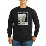 Polar Bear Cub Long Sleeve Dark T-Shirt