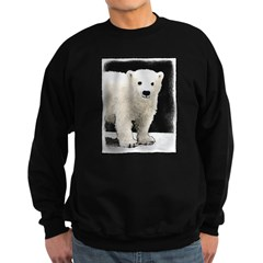 Polar Bear Cub Sweatshirt (dark)
