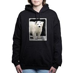 Polar Bear Cub Women's Hooded Sweatshirt