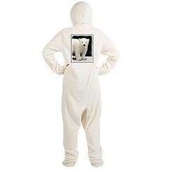 Polar Bear Cub Footed Pajamas