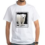 Polar Bear Cub White T-Shirt