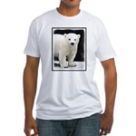 Polar Bear Cub Fitted T-Shirt