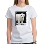 Polar Bear Cub Women's Classic White T-Shirt
