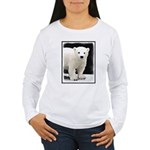 Polar Bear Cub Women's Long Sleeve T-Shirt