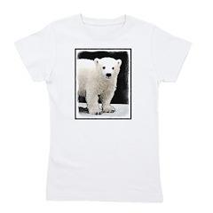 Polar Bear Cub Girl's Tee