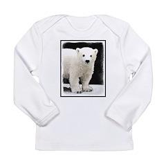 Polar Bear Cub Long Sleeve Infant T-Shirt