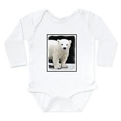 Polar Bear Cub Long Sleeve Infant Bodysuit