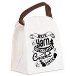 Crochet Mantra Daily Canvas Lunch Bag