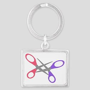 scissor-me Landscape Keychain