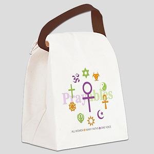 Faith Circle Prayables Canvas Lunch Bag