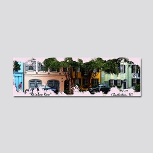 Rainbow Row Car Magnet 10 x 3