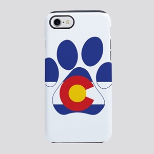 Colorado Paws iPhone 7 Tough Case