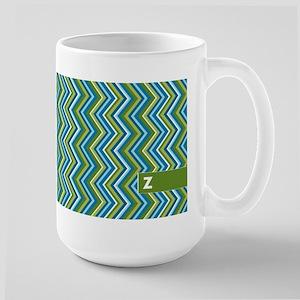 Add Monogram Chevrons Mugs