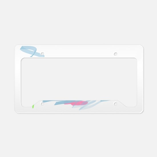 Clara - all about me License Plate Holder