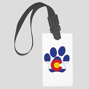 Colorado Paws Large Luggage Tag