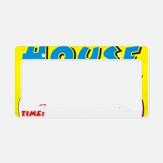 house clearance dt License Plate Holder