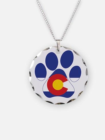 Colorado Paws Necklace