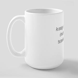 4-analogy-new Large Mug