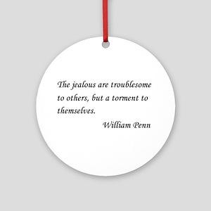Jealousy Ornament (Round)