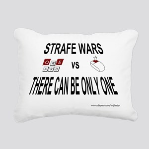3-strafewars-new Rectangular Canvas Pillow