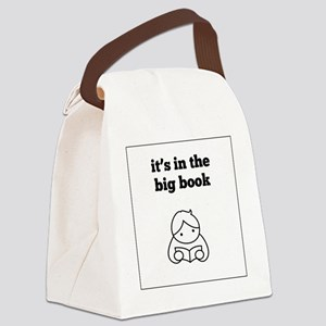 Big Book Canvas Lunch Bag