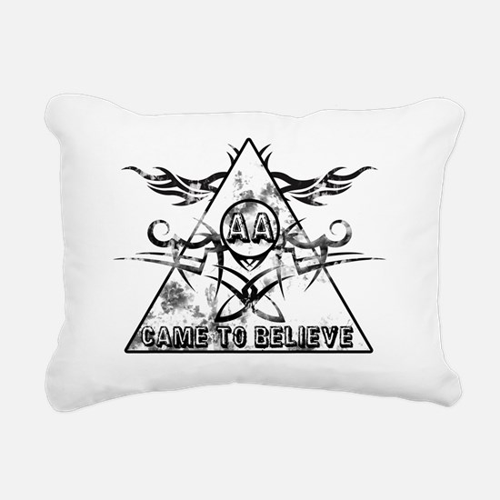 Came to Believe Rectangular Canvas Pillow