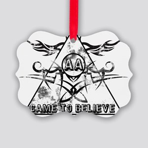 Came to Believe Picture Ornament