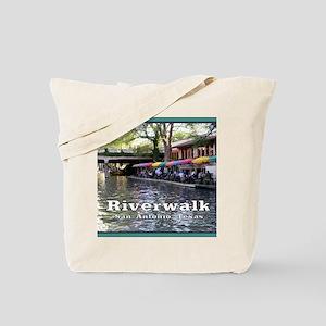 Riverwalk, San Antonio,TEXAS Tote Bag