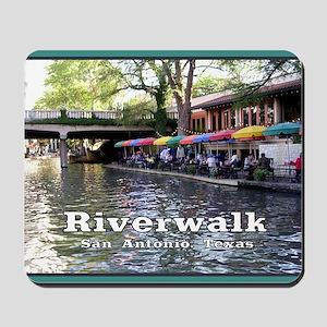 Riverwalk, San Antonio,TEXAS Mousepad