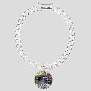 Riverwalk, San Antonio,T Charm Bracelet, One Charm