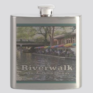 Riverwalk, San Antonio,TEXAS Flask