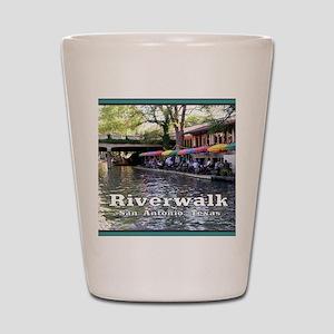 Riverwalk, San Antonio,TEXAS Shot Glass