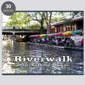Riverwalk, San Antonio,TEXAS Puzzle