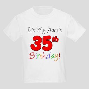 Aunts 35th Birthday T-Shirt