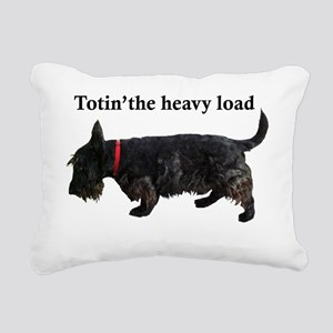 totin Rectangular Canvas Pillow