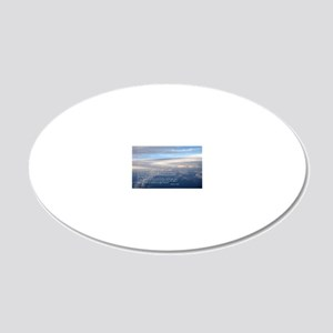 sky_new_cal 20x12 Oval Wall Decal